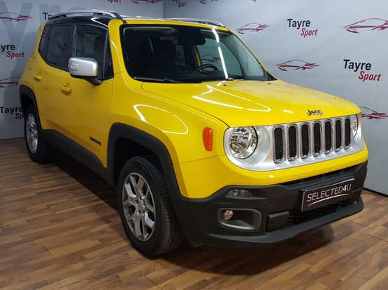 Jeep® Renegade 2.0 Mjet Limited 4x4 Active Drive