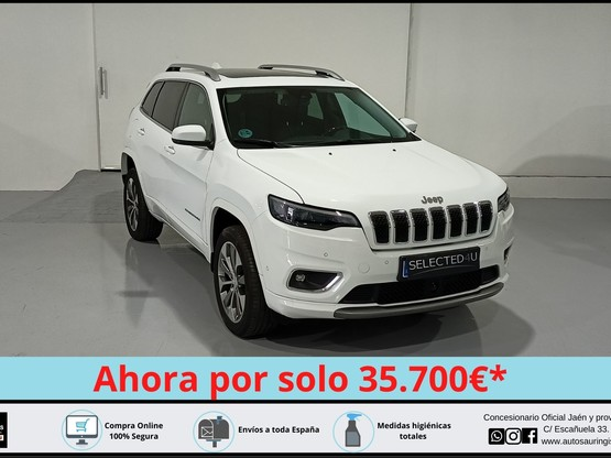 Jeep® Cherokee 2.2 CRD 143kW Overland 9AT E6D 4WD
